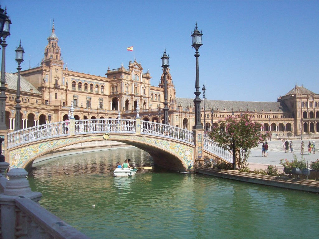 spain square seville