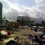 La Barceloneta: A beach in the touristic centre of Barcelona
