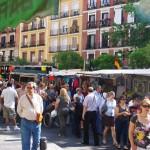 El Rastro de Madrid / The most famous street market in Madrid