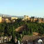 La Alhambra / The Alhambra complex of buildings and palaces (Granada)