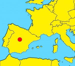 mapa madrid spain