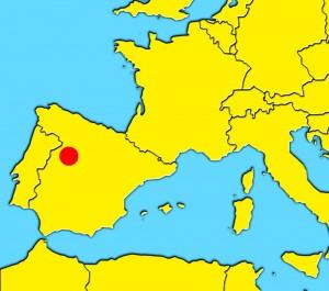 mapa salamanca spain