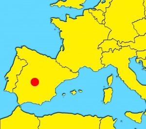 mapa toledo spain
