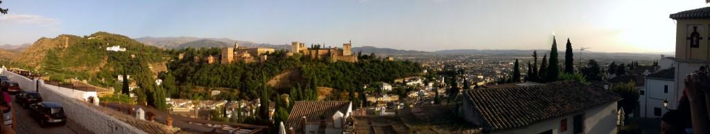 panoramica alhambra