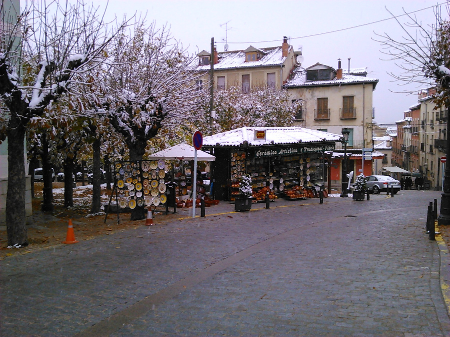 restaurants and town