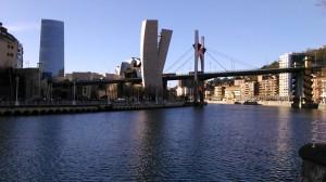 Guggenheim museum and bridge