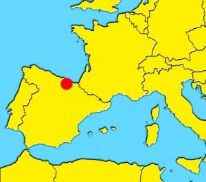 mapa bilbao spain