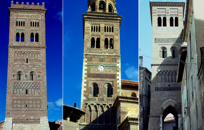 mudejar towers teruel