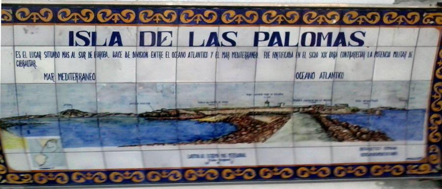 cartel isla de las palomas