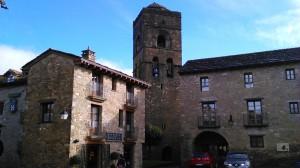 church tower ainsa