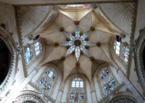 inside catedral burgos