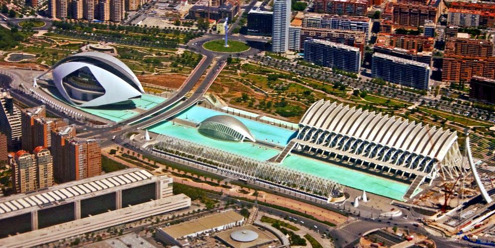 valencia Arts and Sciences City
