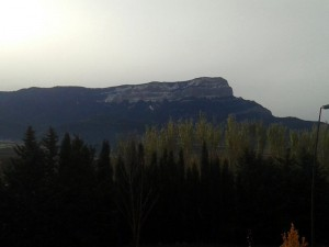 view mountain from jaca