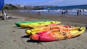 barcas playa gran canaria