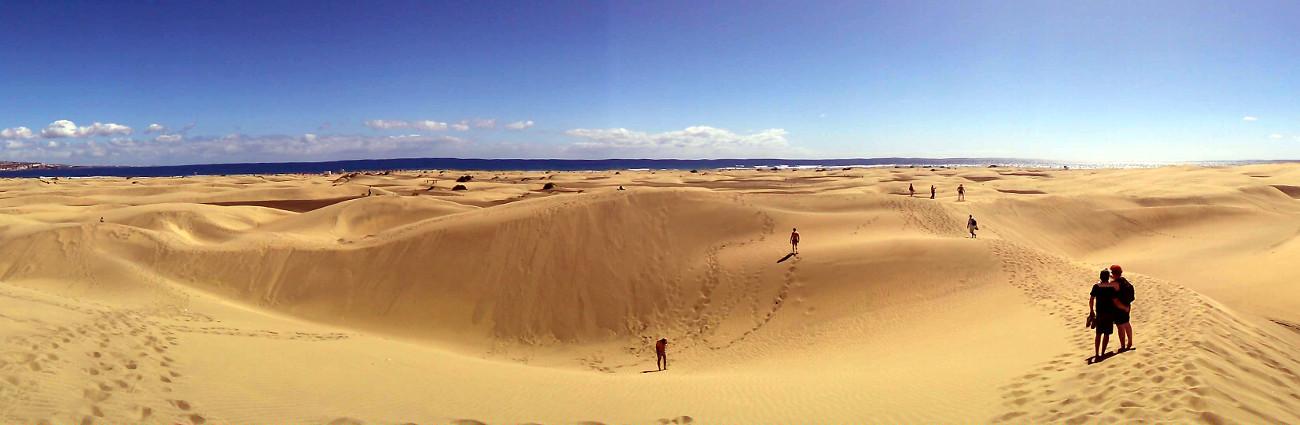 dunas playa del ingles