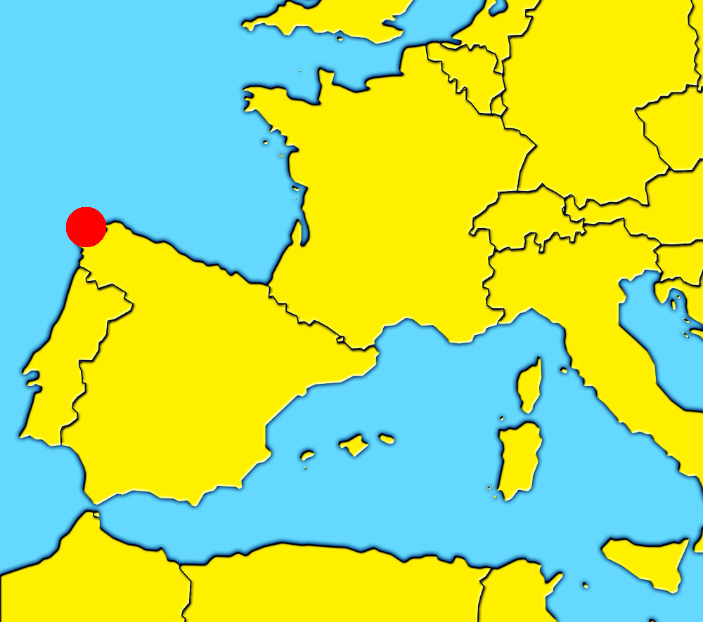 A Coruña Mapa España.A Coruna What To Visit In La Coruna City Galicia The