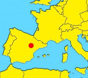 mapa zaragoza spain