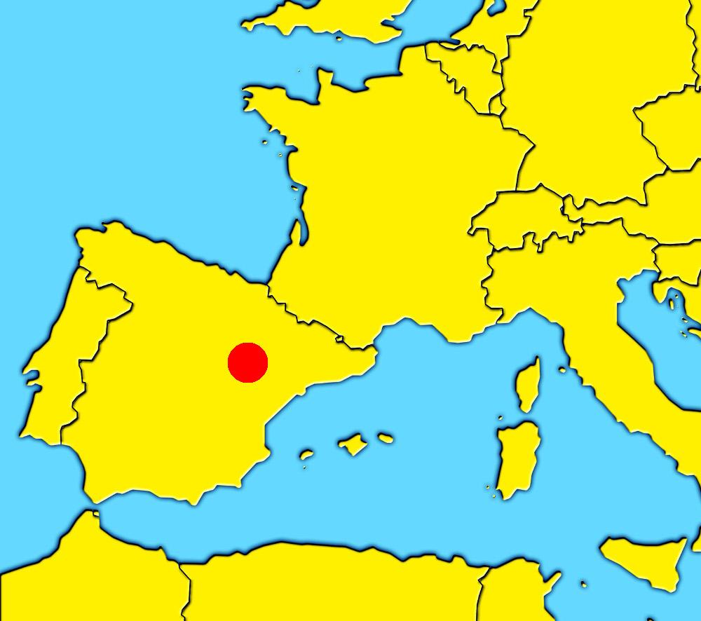 mapa de espanha zaragoza Monastery of Veruela, Vera de Moncayo (Aragón)   The best places  mapa de espanha zaragoza