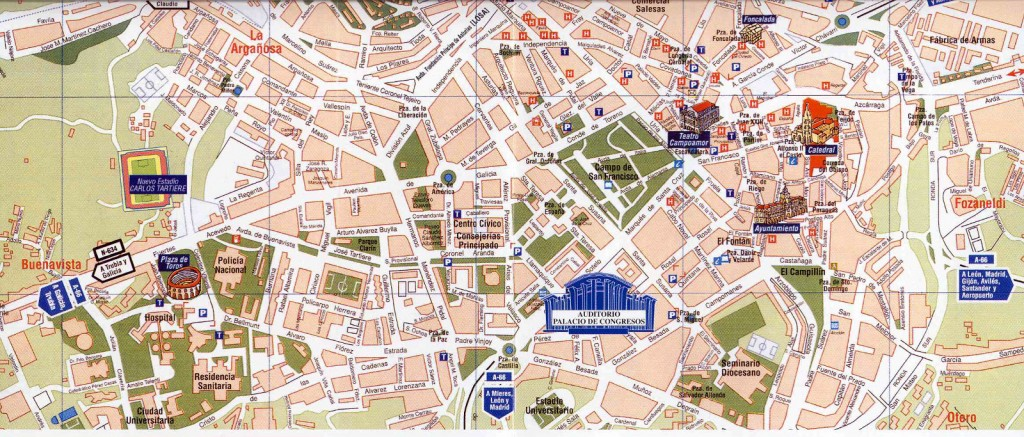 Map Of Spain Oviedo.Oviedo What To Visit In Oviedo City Asturias The Best Places In