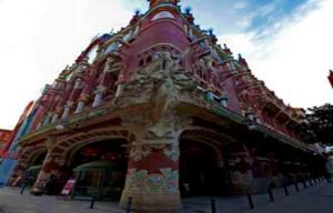 palau building barcelona