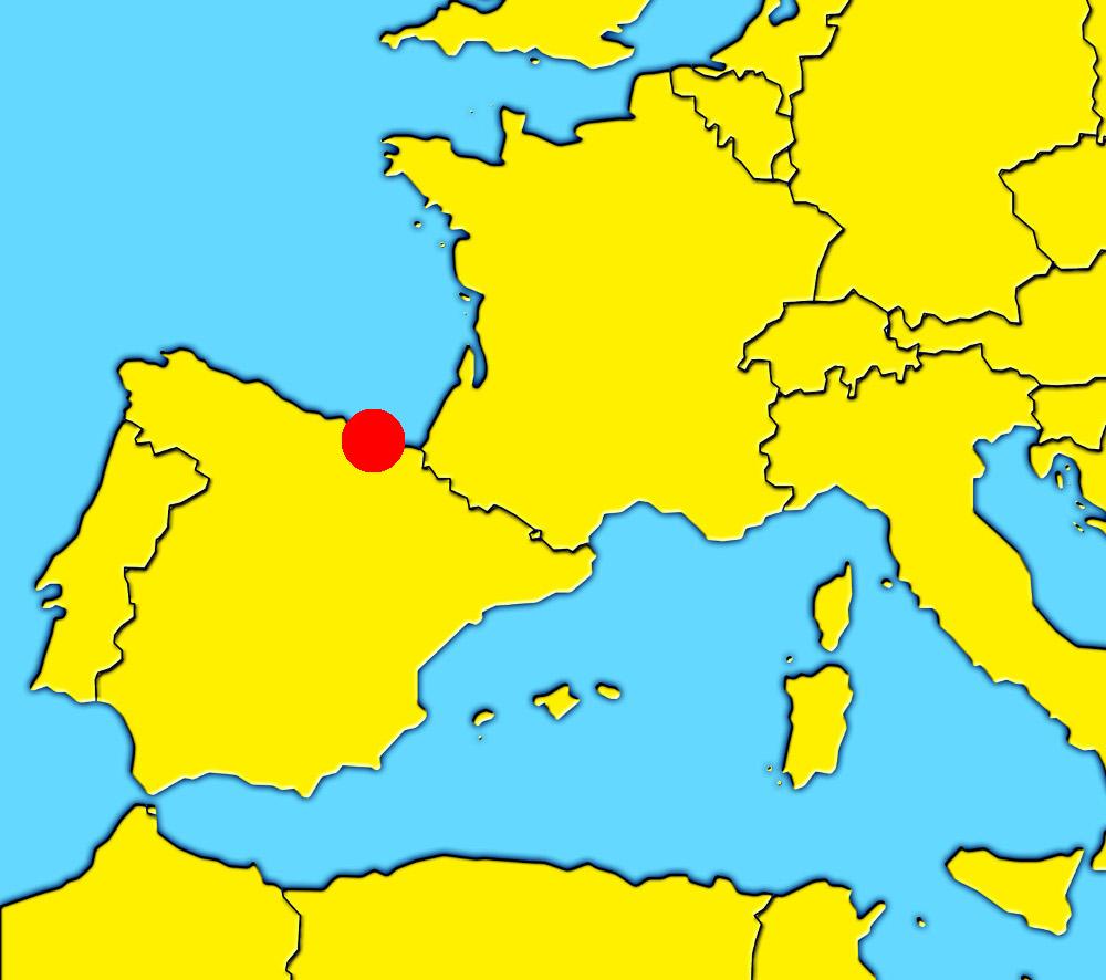San Sebastian España Mapa.San Sebastian Donostia What To Visit In San Sebastian