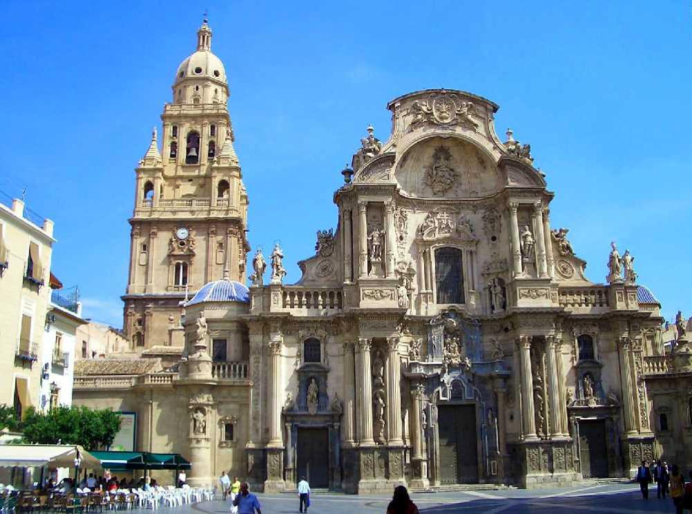 Catedral murcia fachada