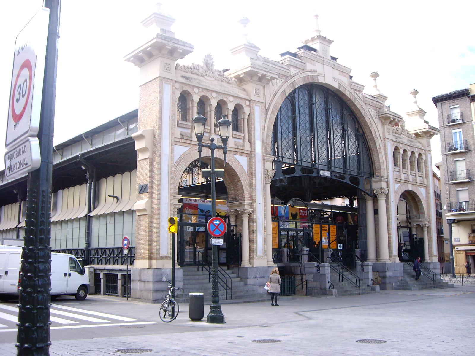 Food Market Zaragoza