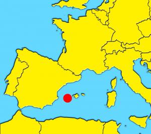 map ibiza spain